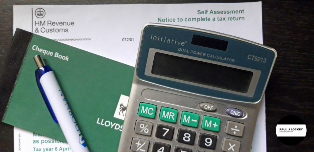 Self Assessment Tax Return Service. PAUL J LOCKEY Bookkeeping & Accounts. Keighley, West Yorkshire.