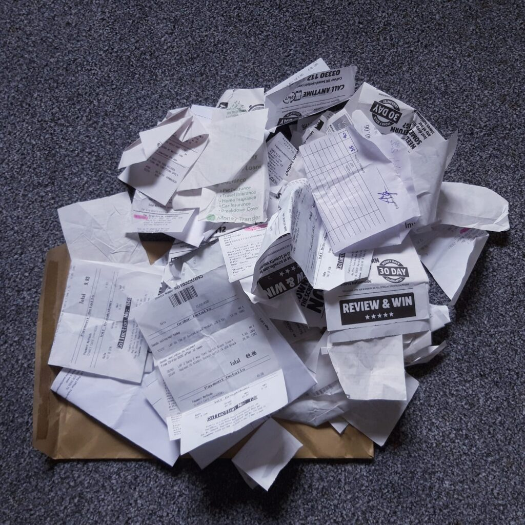 Avoid the large envelope or carrier bag filing method If you want to reduce your accounting and bookkeeping bills
